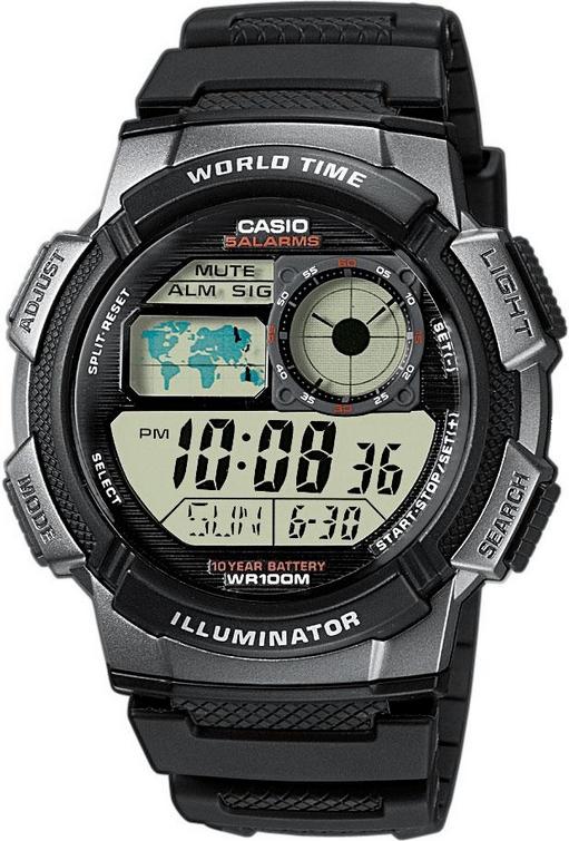 Оригинальные часы Casio Standart AE-1000W-1BVEF