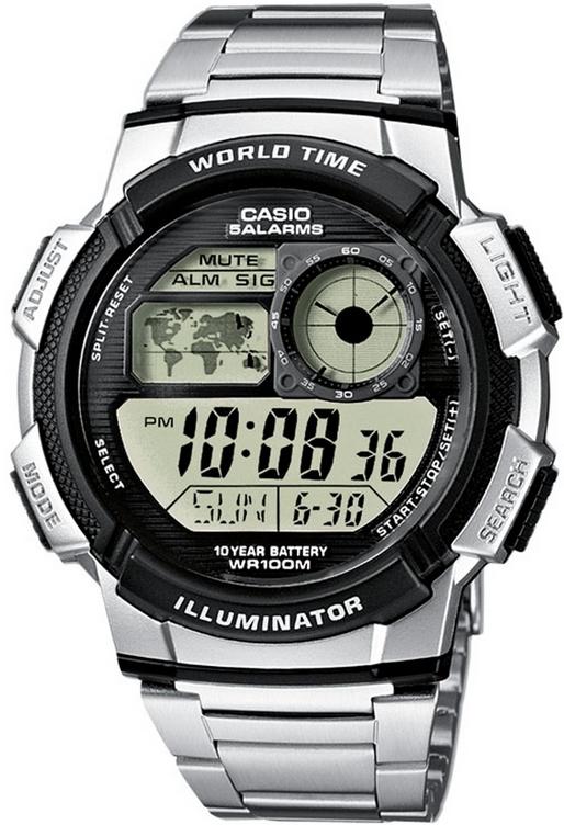 Оригинальные часы Casio Standart AE-1000WD-1AVEF