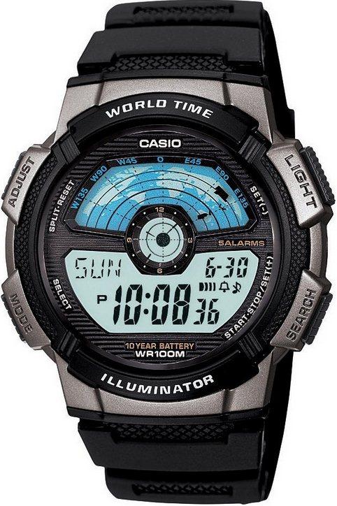 Оригинальные часы Casio Standart AE-1100W-1AVEF
