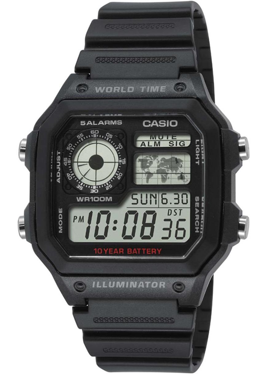 Оригинальные часы Casio Standart AE-1200WH-1AVEF