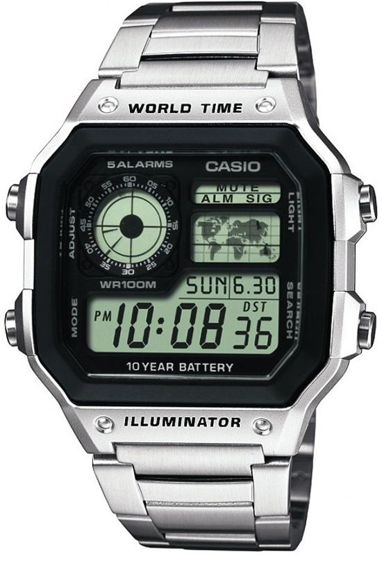 Оригинальные часы Casio Standart AE-1200WHD-1AVEF