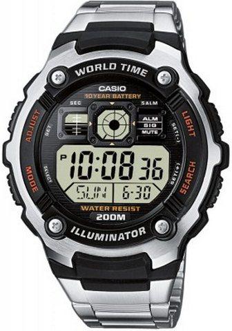 Оригинальные часы Casio Standart AE-2000WD-1AVEF