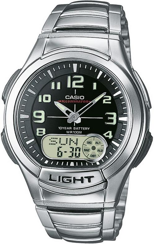 Оригинальные часы Casio Standart AQ-180WD-1BVEF