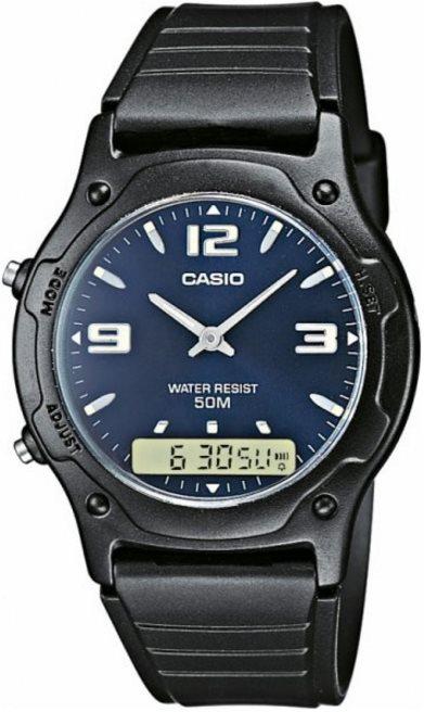 Оригинальные часы Casio Standart AW-49HE-2AVEF