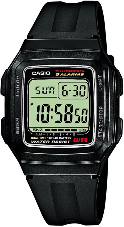 Оригинальные часы Casio Standart F-201WA-1AEF