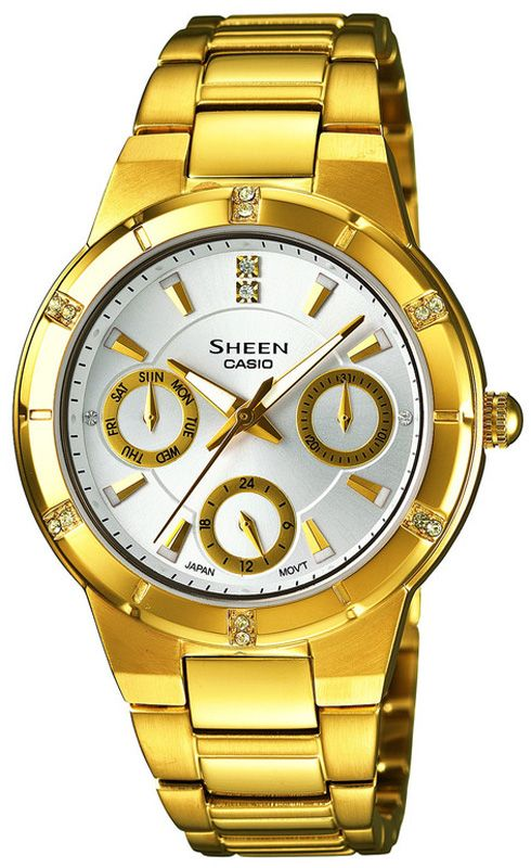 Оригинальные часы Casio Ladies SHE-3800GD-7AEF