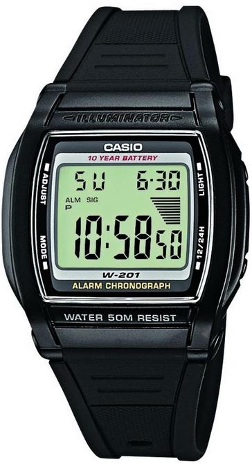 Оригинальные часы Casio Standart W-201-1AVEF