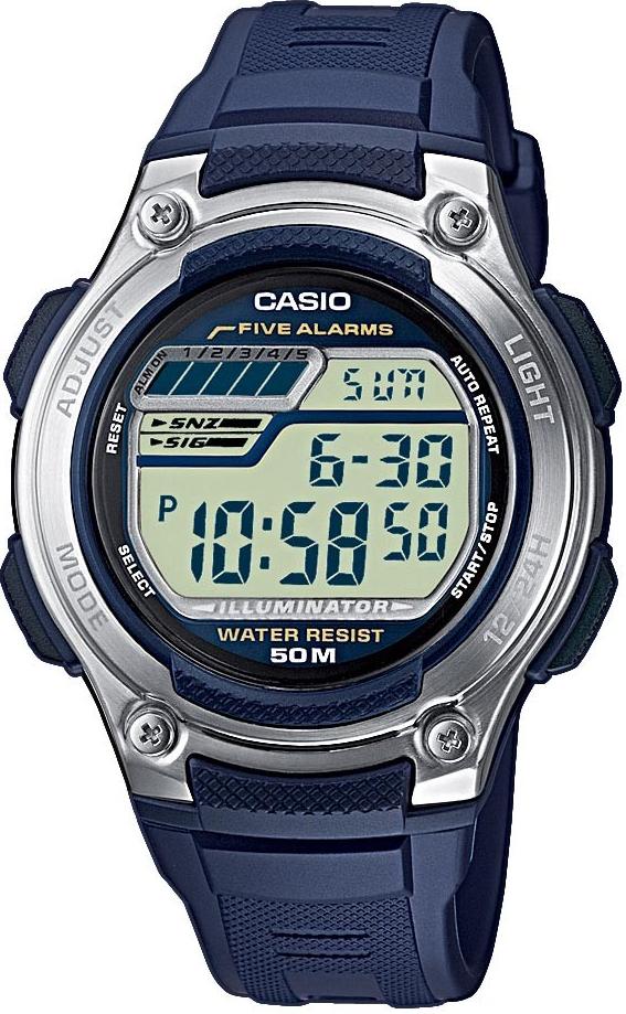 Оригинальные часы Casio Standart W-212H-2AVEF
