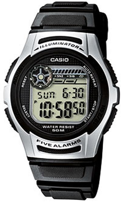 Оригинальные часы Casio Standart W-213-1AVEF