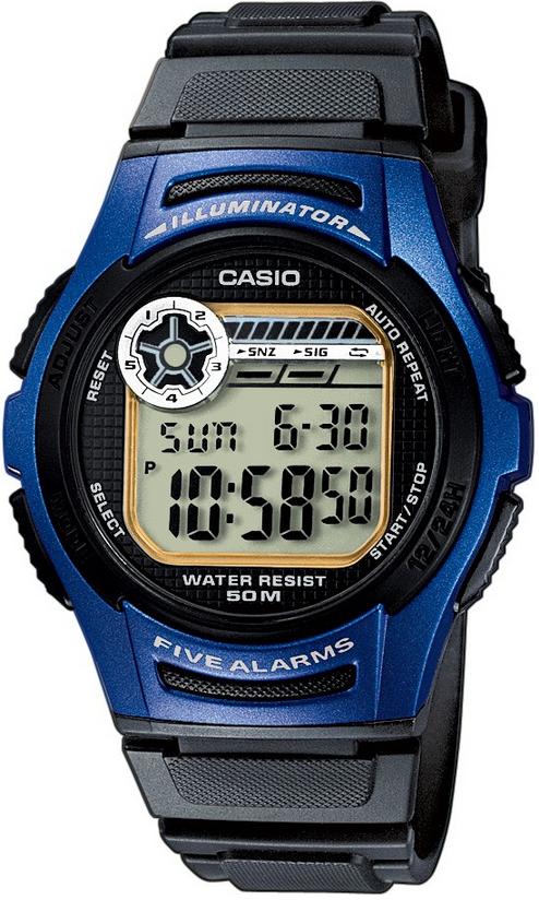 Оригинальные часы Casio Standart W-213-2AVEF