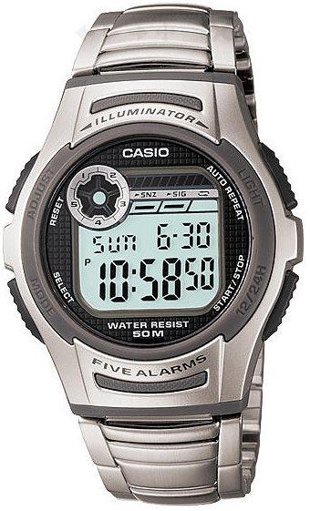 Оригинальные часы Casio Standart W-213D-1AVEF