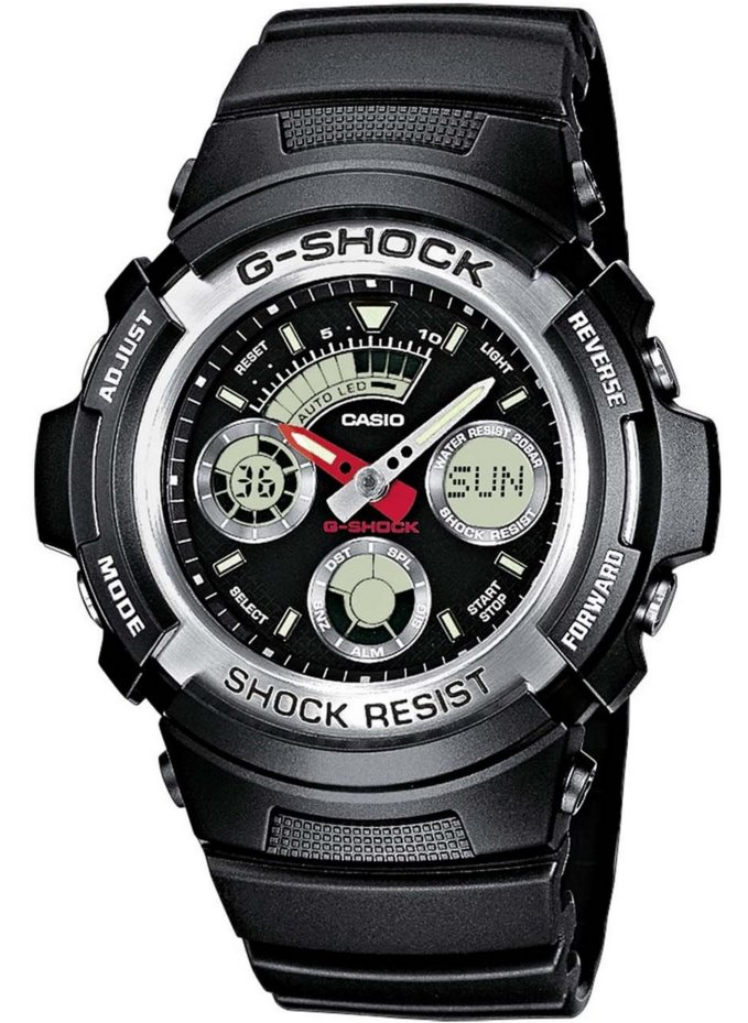 Оригинальные часы Casio G-Shock AW-590-1AER