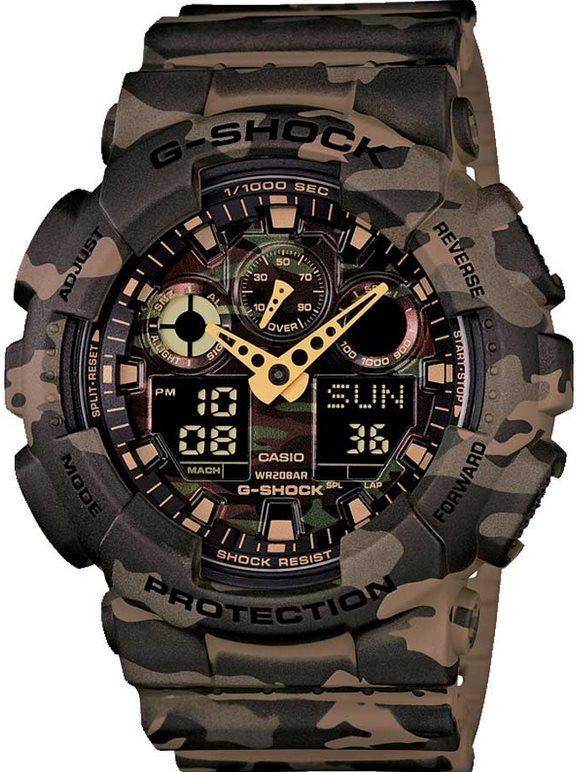 Оригинальные часы Casio G-Shock GA-100CM-5AER
