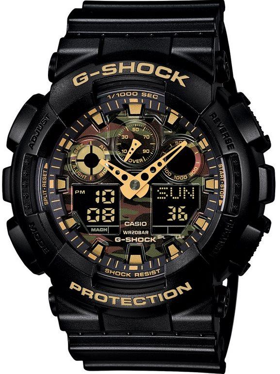 Оригинальные часы Casio G-Shock GA-100CF-1A9ER