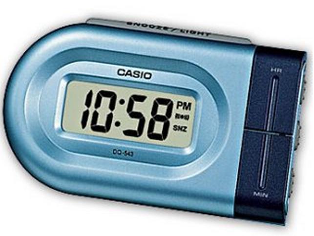 Оригинальные часы Casio Alarm clocks DQ-543-2EF