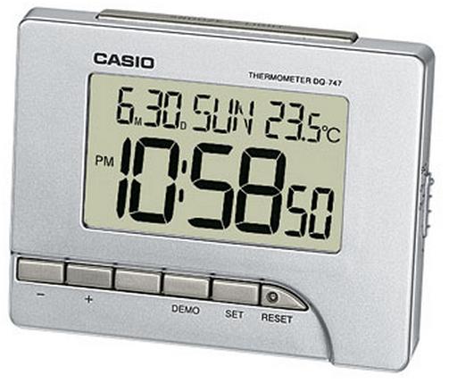 Оригинальные часы Casio Alarm clocks DQ-747-8EF