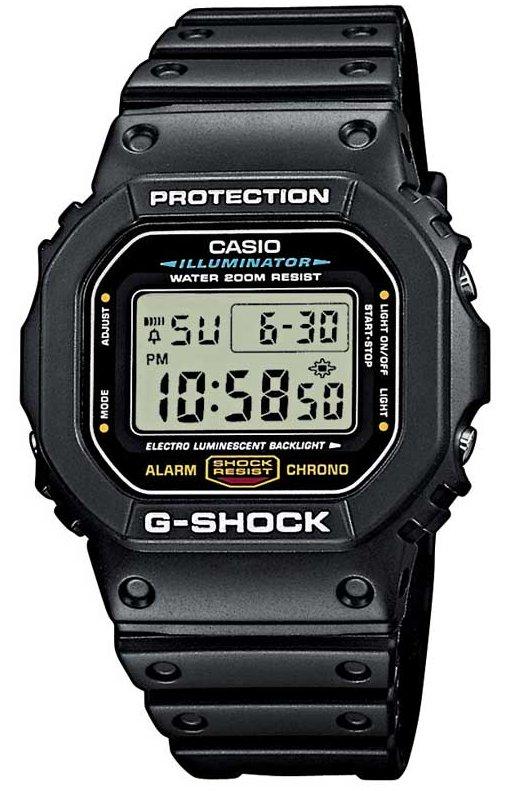 Оригинальные часы Casio G-Shock DW-5600E-1VER