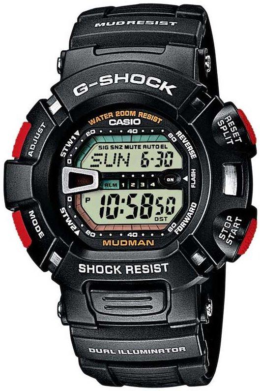 Оригинальные часы Casio G-Shock G-9000-1VER