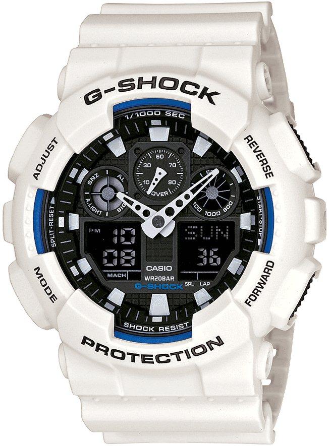 Оригинальные часы Casio G-Shock GA-100B-7AER