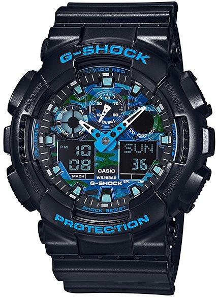Оригинальные часы Casio G-Shock GA-100CB-1AER