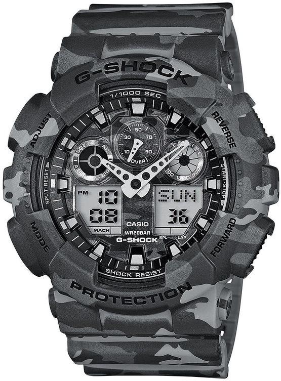 Оригинальные часы Casio G-Shock GA-100CM-8AER