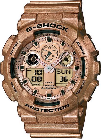 Оригинальные часы Casio G-Shock GA-100GD-9AER