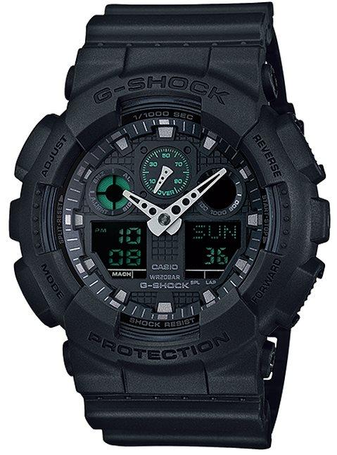Оригинальные часы Casio G-Shock GA-100MB-1AER