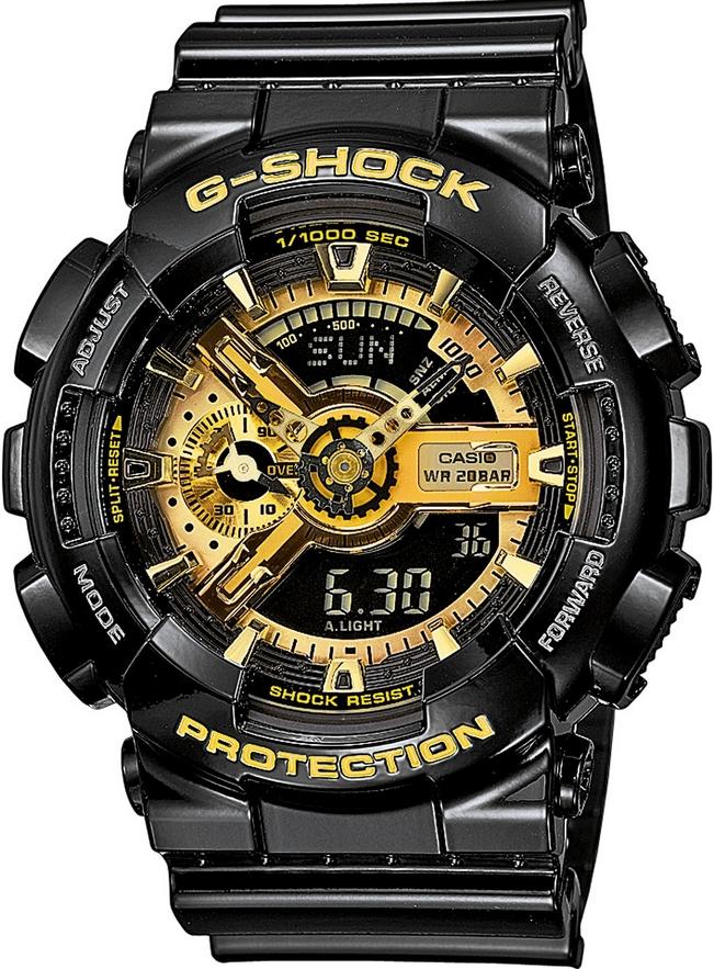 Оригинальные часы Casio G-Shock GA-110GB-1AER