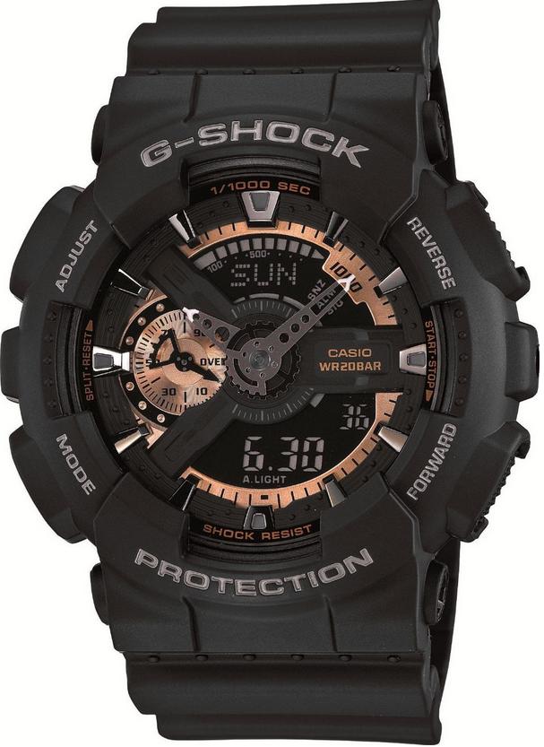 Оригинальные часы Casio G-Shock GA-110RG-1AER