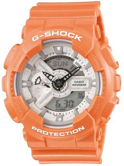Оригинальные часы Casio G-Shock GA-110SG-4AER