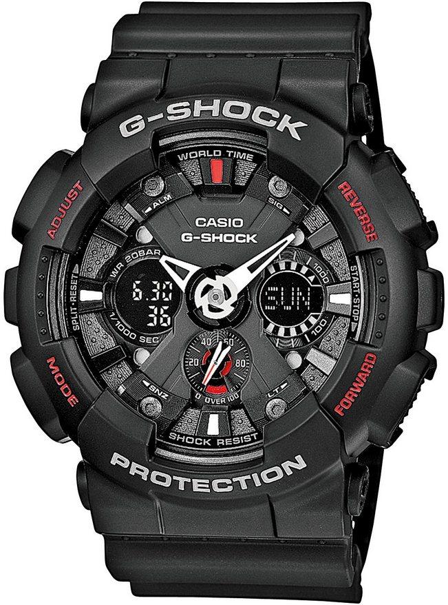 Оригинальные часы Casio G-Shock GA-120-1AER