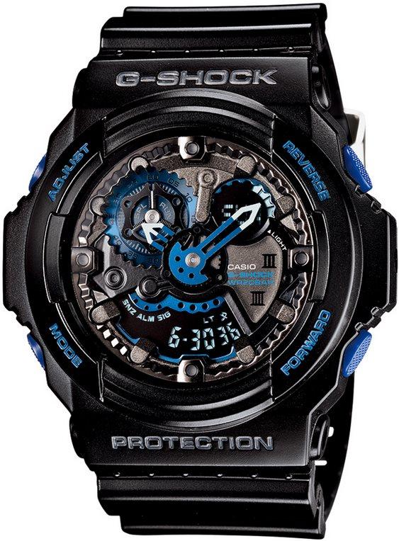 Оригинальные часы Casio G-Shock GA-303B-1AER