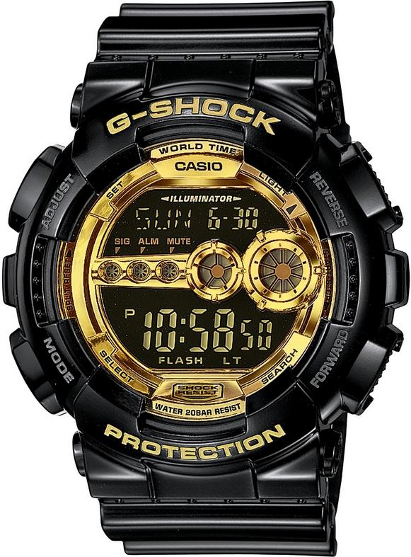 Оригинальные часы Casio G-Shock GD-100GB-1ER