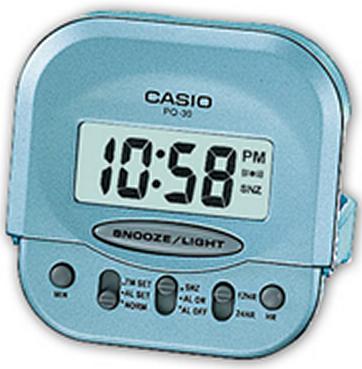 Оригинальные часы Casio Alarm clocks PQ-30-2EF