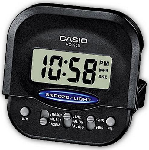 Оригинальные часы Casio Alarm clocks PQ-30B-1EF