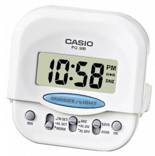 Оригинальные часы Casio Alarm clocks PQ-30B-7EF