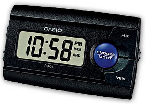 Оригинальные часы Casio Alarm clocks PQ-31-1EF