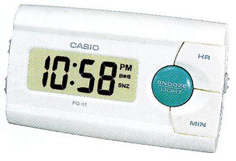 Оригинальные часы Casio Alarm clocks PQ-31-7EF