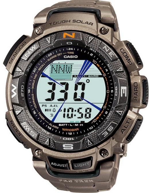 Оригинальные часы Casio Pro-trek PRG-240T-7ER