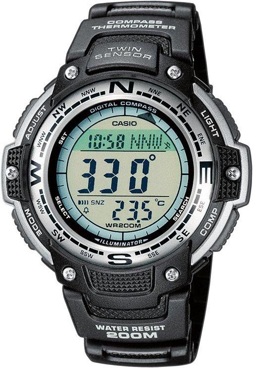 Оригинальные часы Casio Pro-trek SGW-100-1VEF
