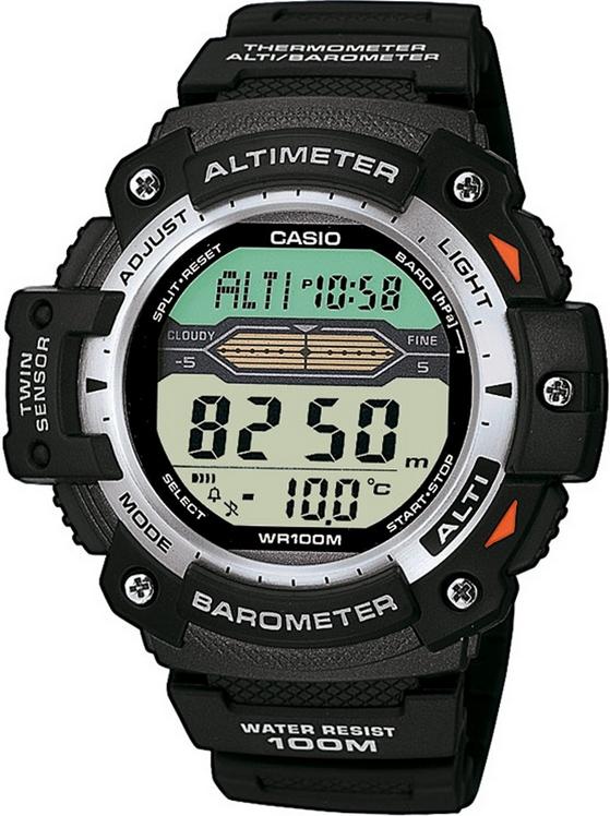 Оригинальные часы Casio Pro-trek SGW-300H-1AVER