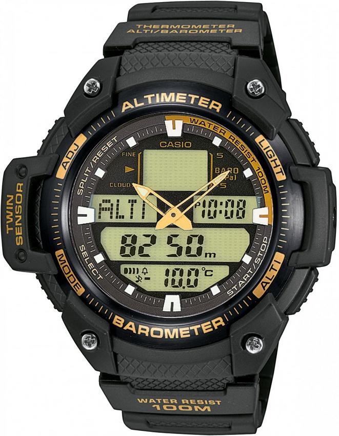 Оригинальные часы Casio Pro-trek SGW-400H-1B2VER