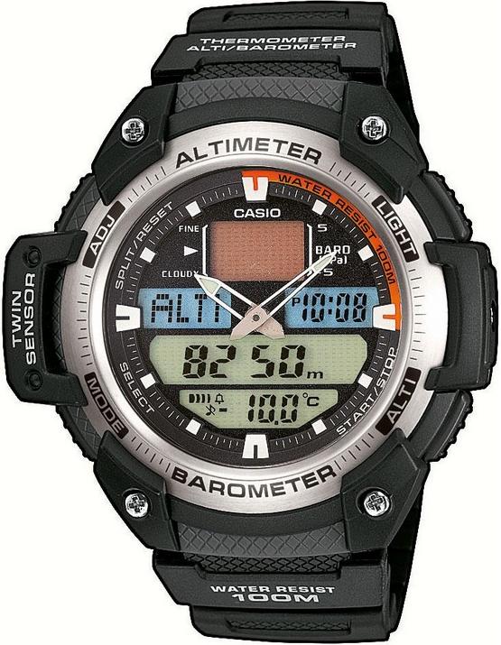 Оригинальные часы Casio Pro-trek SGW-400H-1BVER