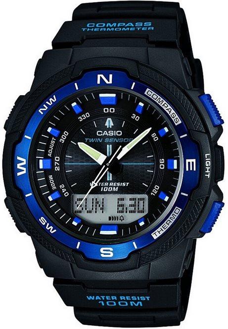 Оригинальные часы Casio Pro-trek SGW-500H-2BVER