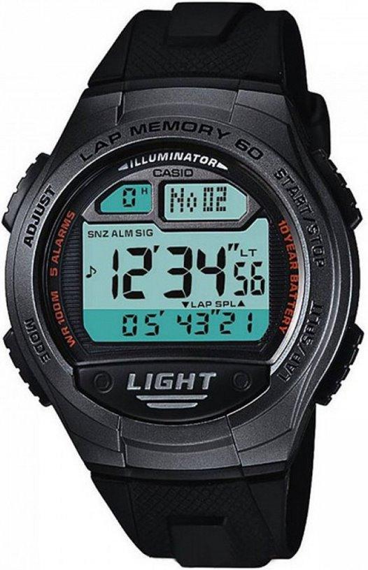 Оригинальные часы Casio Standart W-734-1AVEF