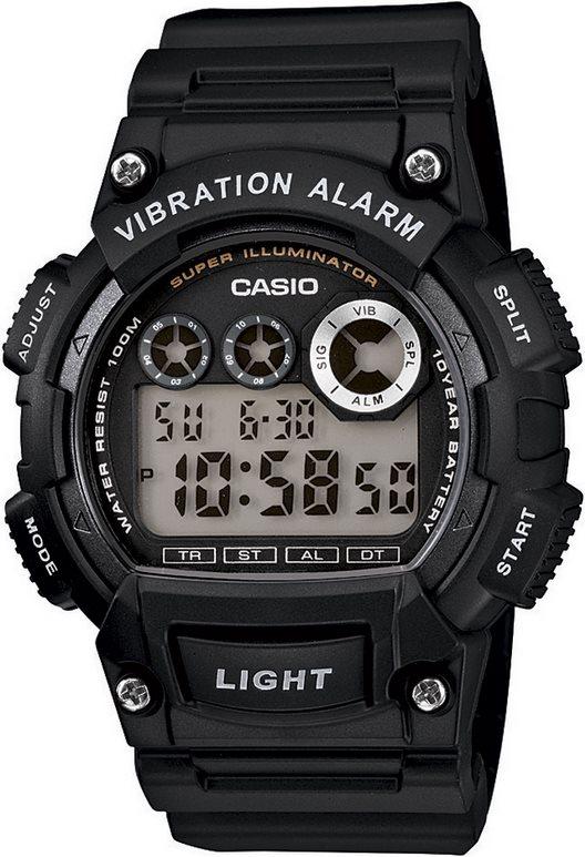 Оригинальные часы Casio Standart W-735H-1AVEF
