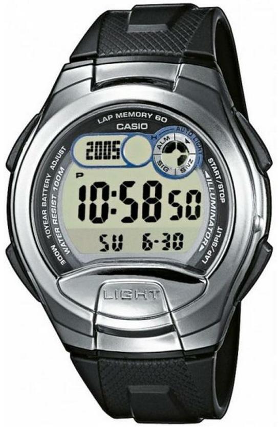 Оригинальные часы Casio Standart W-752-1AVEF
