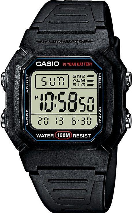 Оригинальные часы Casio Standart W-800H-1AVES