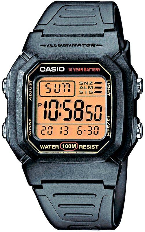 Оригинальные часы Casio Standart W-800HG-9AVEF