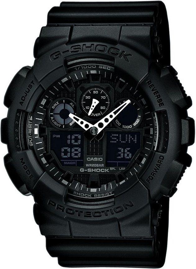 Оригинальные часы Casio G-Shock GA-100-1A1ER